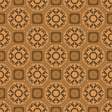Seamless ornament tile pattern Stock Images