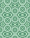 Seamless ornament tile pattern Stock Photos