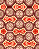Seamless ornament tile pattern Royalty Free Stock Photos