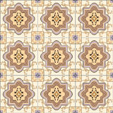 Seamless ornament tiles Royalty Free Stock Photography