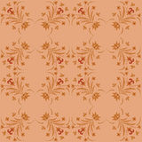 Seamless ornament vector pattern for disign Stock Image