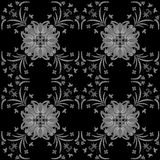Seamless ornament vector pattern for disign Royalty Free Stock Image