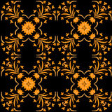 Seamless ornament vector pattern for disign. Wallpaper royalty free illustration