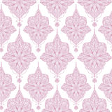 Seamless ornament vintage floral decoration. Vector vintage floral decoration, seamless ornament. Vector traditional classic pattern Royalty Free Stock Photos