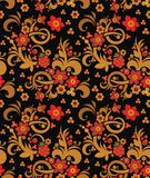 Seamless Ornament Wallpaper. Seamless ornamental wallpaper with floral details Stock Photos