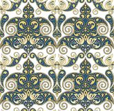Seamless Ornament Wallpaper. Seamless ornamental wallpaper with vintage details Royalty Free Stock Photos