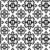 Seamless ornament wallpaper royalty free illustration
