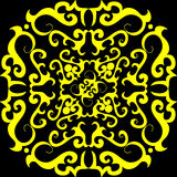 Seamless ornament wallpaper Royalty Free Stock Image