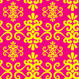 Seamless ornament wallpaper Royalty Free Stock Images