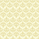 Seamless ornamental decorative pattern Royalty Free Stock Images