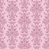 Seamless ornamental decorative pattern. Damask seamless pattern for design. Vector Illustration stock illustration