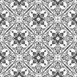 Seamless ornamental drawing pattern Stock Photo