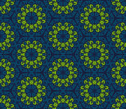 Seamless ornamental oriental pattern Royalty Free Stock Image