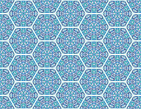 Seamless ornamental oriental pattern Royalty Free Stock Photo