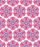 Seamless ornamental oriental pattern Stock Photos