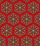Seamless ornamental pattern. Illustration of seamless ornamental pattern Stock Photos