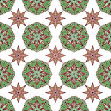 Seamless ornamental pattern Royalty Free Stock Image