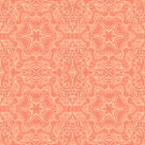 Seamless ornamental pattern background. Seamless abstract pattern background. Ornament endless texture stock illustration