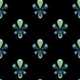 Seamless ornamental pattern background Stock Photography