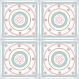 Seamless ornamental pattern decoration elements texture, tile ba Royalty Free Stock Photos