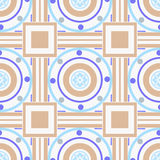 Seamless ornamental pattern decoration elements texture, tile ba Royalty Free Stock Images