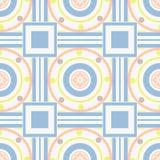 Seamless ornamental pattern decoration elements texture, tile ba Stock Photography