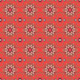 Seamless ornamental pattern. Festive print with oriental motifs.  Royalty Free Stock Photo