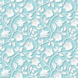 Seamless ornamental pattern. Stock Image