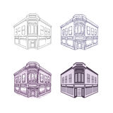 building vector Stock Image