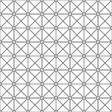 Seamless ornamental pattern - simple design. Vector geometric background.  Stock Photo