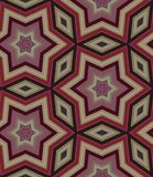Seamless ornamental pattern from stars Royalty Free Stock Image