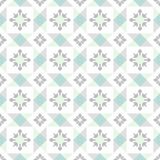 Seamless ornamental tile background Royalty Free Stock Image