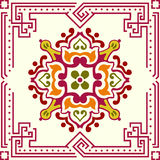 Seamless ornament tile. Seamless ornamental tile background vector illustration vector illustration