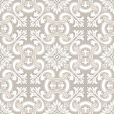 Seamless ornamental tile background Royalty Free Stock Photos