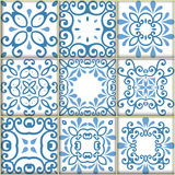 Seamless ornamental tile backgrounds. Vector stock illustration