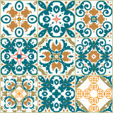 Seamless ornamental tile backgrounds. Vector vector illustration
