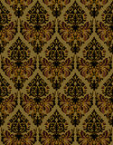 Seamless ornamental vector background Stock Images