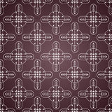 Seamless ornamental wallpaper Stock Photography