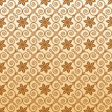Seamless ornamental wallpaper Royalty Free Stock Photo