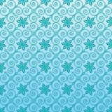 Seamless ornamental wallpaper Stock Photo