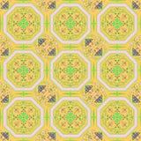 Seamless Ornamental Wallpaper Stock Image