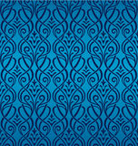 Seamless Ornamental Wallpaper. The pattern can be repeated seamless Royalty Free Stock Images