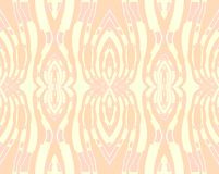 Seamless ornaments peach color pink yellow Stock Photo
