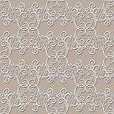 Seamless Ornate Abstract Pattern Royalty Free Stock Images