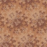 Seamless Ornate Abstract Pattern Stock Photos