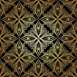 Seamless Ornate Abstract Pattern Stock Image