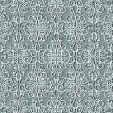 Seamless Ornate Abstract Pattern Stock Photo