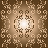 Seamless Ornate Abstract Pattern Royalty Free Stock Image
