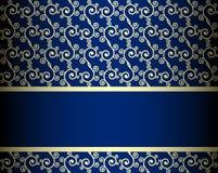 Seamless ornate background Stock Image