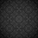 Seamless ornate elegant wallpaper background Stock Photos